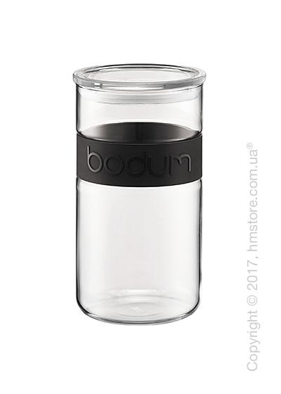 Емкость для сыпучих продуктов Bodum Presso, 2 л, Black