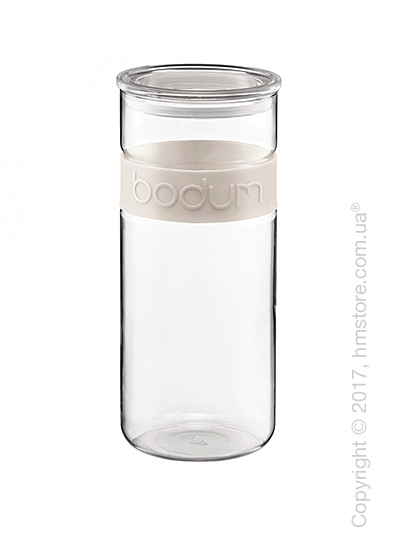 Емкость для сыпучих продуктов Bodum Presso 2,5 л, White