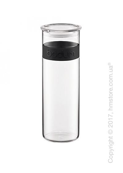 Емкость для сыпучих продуктов Bodum Presso 1,9 л, Black