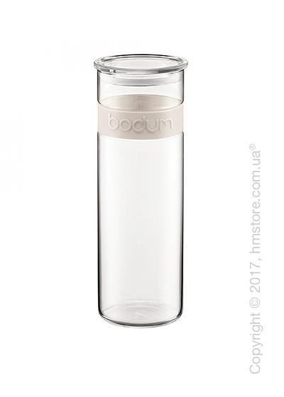 Емкость для сыпучих продуктов Bodum Presso 1,9 л, White