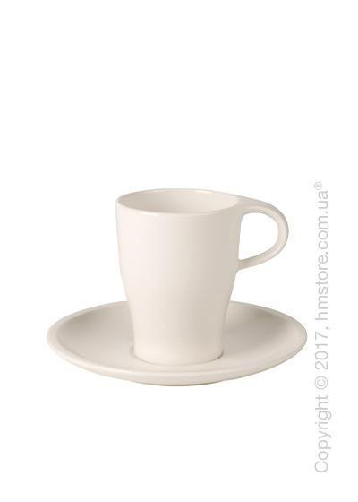 Чашка с блюдцем Villeroy & Boch коллекция Coffee Passion, 380 мл