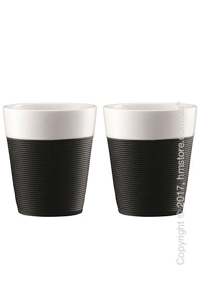 Набор стаканов Bodum Bistro 300 мл на 2 персоны, Black