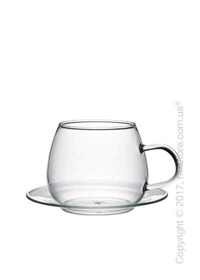 Чашка с блюдцем WMF коллекция Clever & More, 200 мл
