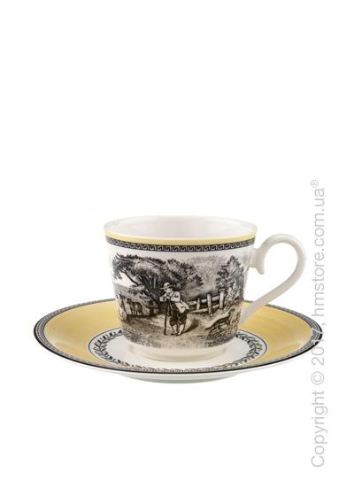 Чашка с блюдцем Villeroy & Boch коллекция Audun Ferme, 350 мл
