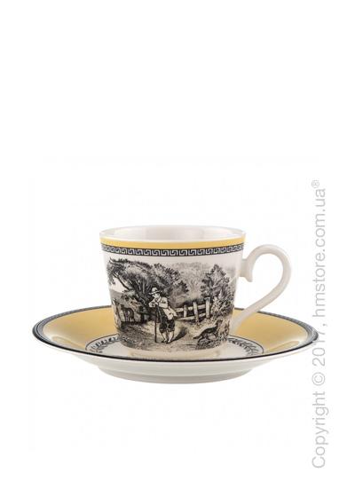 Чашка с блюдцем Villeroy & Boch коллекция Audun Ferme, 200 мл