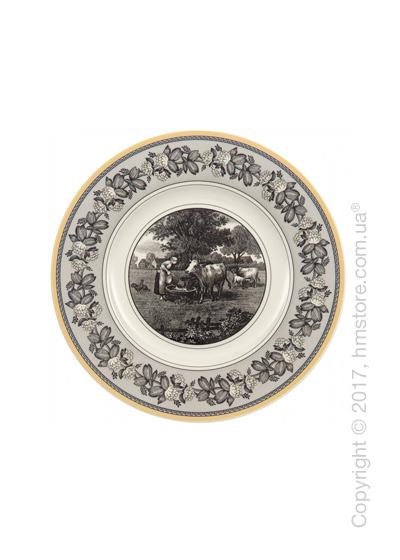 Тарелка десертная мелкая Villeroy & Boch коллекция Audun Ferme, 22 см