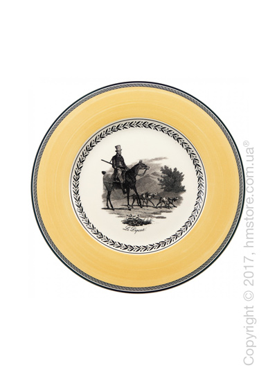 Тарелка столовая мелкая Villeroy & Boch коллекция Audun Chasse, 27 см