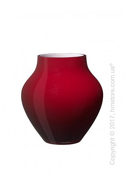 Ваза Villeroy & Boch коллекция Oronda, 17 см, Deep Cherry