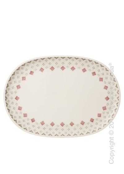 Блюдо для подачи Villeroy & Boch коллекция Artesano Montagne, 43х30 см