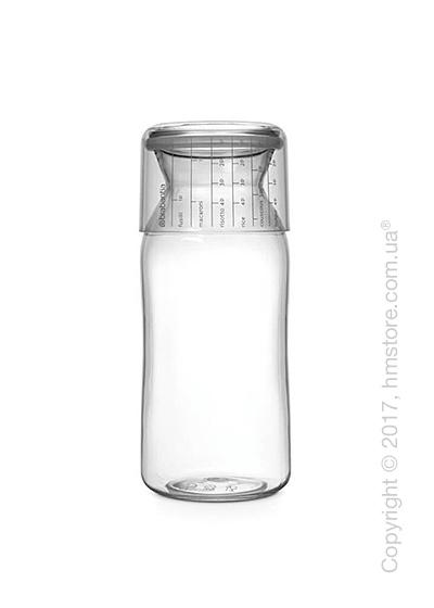 Емкость для хранения сыпучих продуктов Brabantia Storage Jar With Measuring Cup, 1,3 л, Transparent