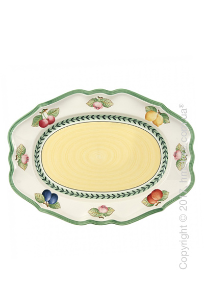 Блюдо для подачи Villeroy & Boch коллекция French Garden Fleurence, 37 см