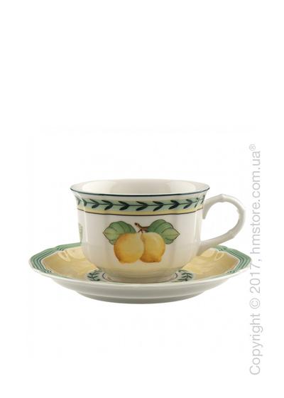 Чашка с блюдцем Villeroy & Boch коллекция French Garden Fleurence, 200 мл