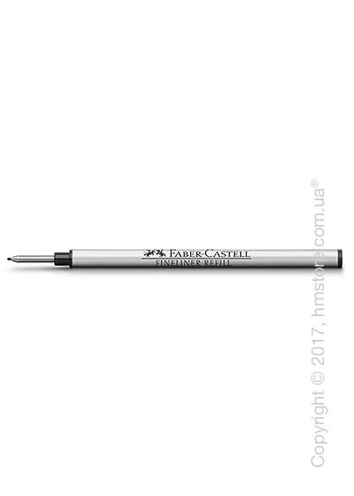 Сменный стержень Faber-Castell для ручки файнлайнер, толщина F, Черного цвета