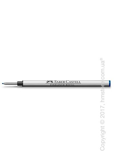 Сменный стержень Faber-Castell для ручки файнлайнер, толщина F, Синего цвета