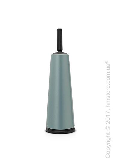 Ершик для ванной комнаты с держателем Brabantia Classic, Metallic Mint