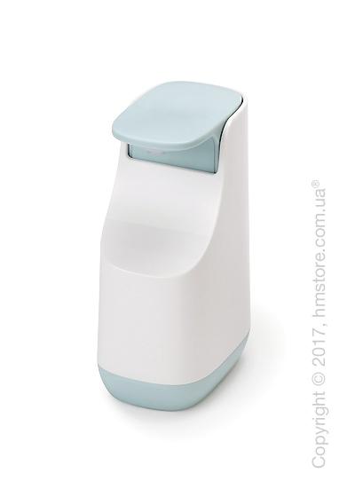 Диспенсер для жидкого мыла Joseph Joseph Slim, White and Blue. Купить