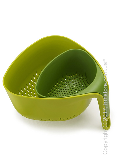 Набор дуршлагов Joseph Joseph Nest, 2 предмета, Green. Купить
