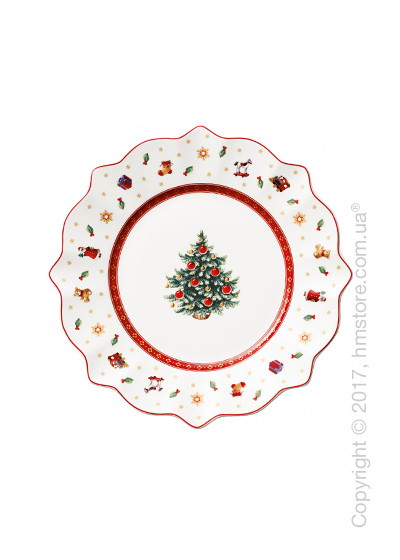 Тарелка десертная мелкая Villeroy & Boch коллекция Toy's Delight, 24 см, White