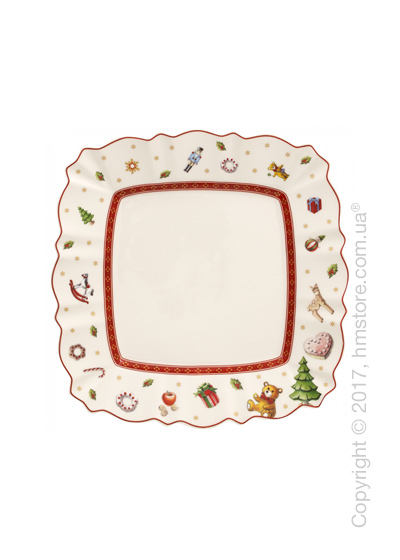 Тарелка десертная мелкая Villeroy & Boch коллекция Toy's Delight, 22х22 см