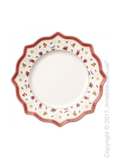 Тарелка столовая мелкая Villeroy & Boch коллекция Toy's Delight, 29 см, White