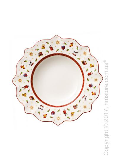 Тарелка столовая глубокая Villeroy & Boch коллекция Toy's Delight, 26 см, White