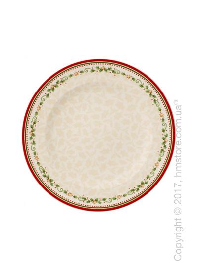 Тарелка столовая мелкая Villeroy & Boch коллекция Winter Bakery Delight, 27 см, Falling Star