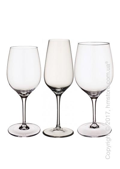 Набор бокалов для белого, красного и шампанского вин Villeroy & Boch коллекция Entree на 4 персоны