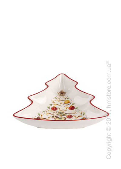 Блюдо Villeroy & Boch коллекция Winter Bakery Delight Tree, 17 см