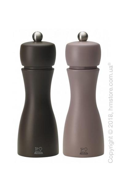 Набор мельниц для соли и перца Peugeot Tahiti Winter 15 см, Grey