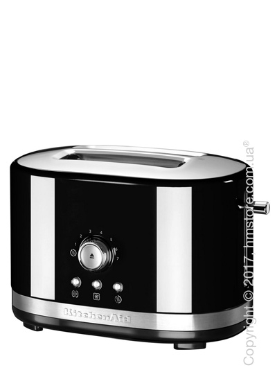 Тостер KitchenAid Manual Control Toaster, Onyx Black