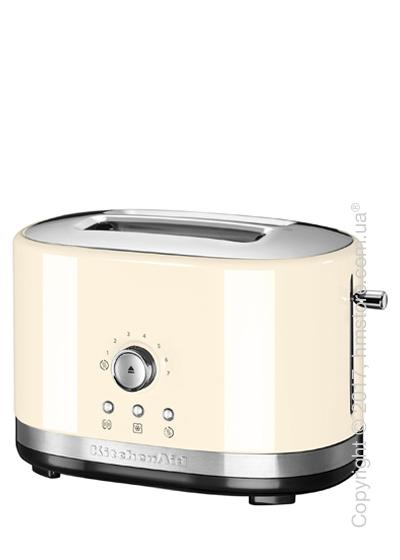 Тостер KitchenAid Manual Control Toaster, Almond Cream