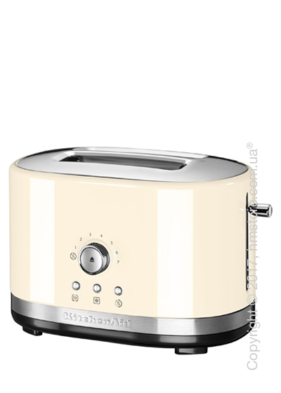 Тостер KitchenAid Manual Control Toaster, Almond Cream