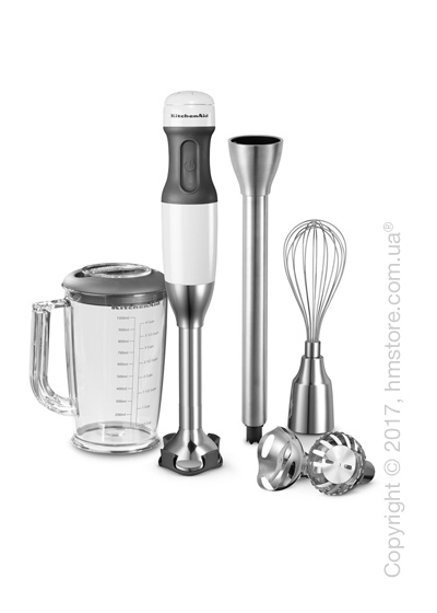 Блендер погружной KitchenAid 5-Speed Hand Blender, Frosted Pearl White