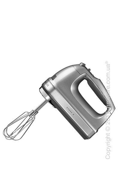 Ручной миксер KitchenAid 9-Speed Hand Mixer, Contour Silver