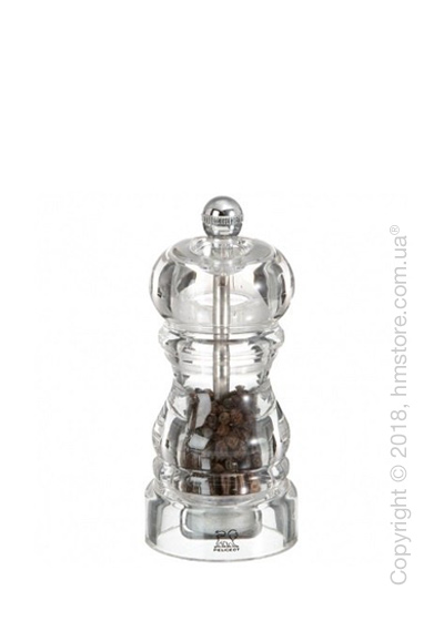 Мельница для перца Peugeot Nancy 12 см, Transparent