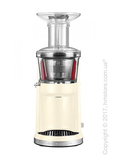 Шнековая соковыжималка KitchenAid Artisan Maximum Extraction Juicer, Almond Cream