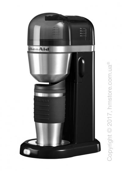 Персональная кофеварка KitchenAid Personal Coffee Maker with 18 oz Thermal Mug, Onyx Black