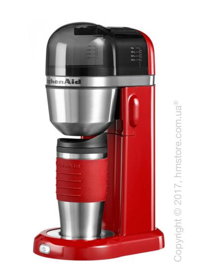 Персональная кофеварка KitchenAid Personal Coffee Maker with 18 oz Thermal Mug, Empire Red. Купить