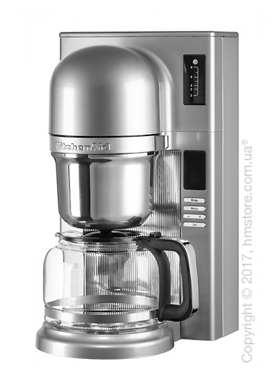 Кофеварка заливного типа KitchenAid Pour Over Coffee Brewer, Contour Silver