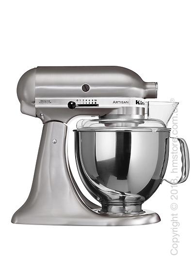 Планетарный миксер KitchenAid Artisan Series 5-Quart Tilt-Head Stand Mixer 4.8 л, Brushed Nickel. Купить