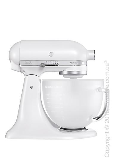Планетарный миксер KitchenAid Artisan Series 5-Quart Tilt-Head Stand Mixer 4.8 л, Frosted Pearl White. Купить