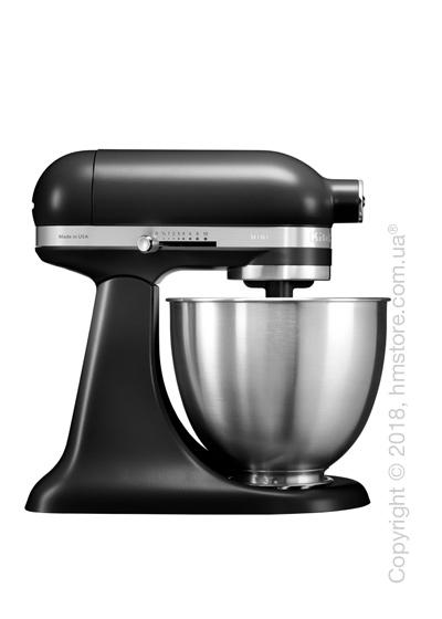 Планетарный миксер KitchenAid Artisan Mini Quart Tilt-Head Stand Mixer 3.3 л, Matte Black. Купить