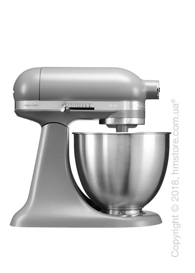 Планетарный миксер KitchenAid Artisan Mini Quart Tilt-Head Stand Mixer 3.3 л, Matte Grey. Купить