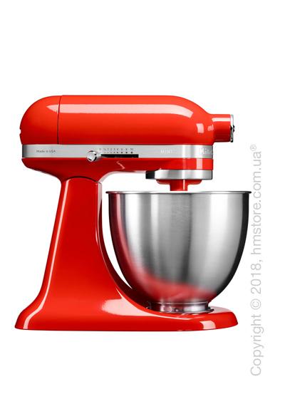 Планетарный миксер KitchenAid Artisan Mini Quart Tilt-Head Stand Mixer 3.3 л, Hot Sauce