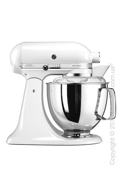 Планетарный миксер KitchenAid Artisan Series 5-Quart Tilt-Head Stand Mixer Plus Bowl 4.8 л, White