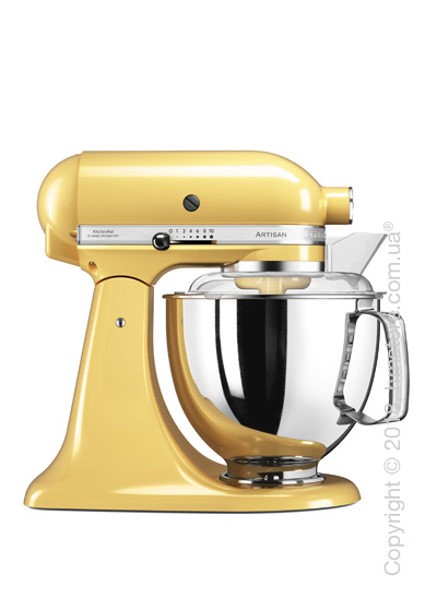 Планетарный миксер KitchenAid Artisan Series 5-Quart Tilt-Head Stand Mixer Plus Bowl 4.8 л, Majestic Yellow