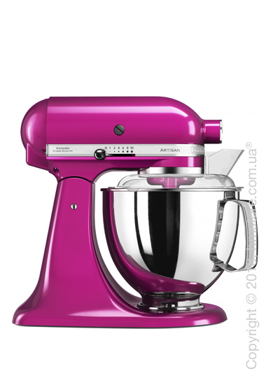 Планетарный миксер KitchenAid Artisan Series 5-Quart Tilt-Head Stand Mixer Plus Bowl 4.8 л, Raspberry Ice