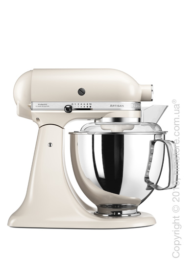 Планетарный миксер KitchenAid Artisan Series 5-Quart Tilt-Head Stand Mixer Plus Bowl 4.8 л, Caffe Latte
