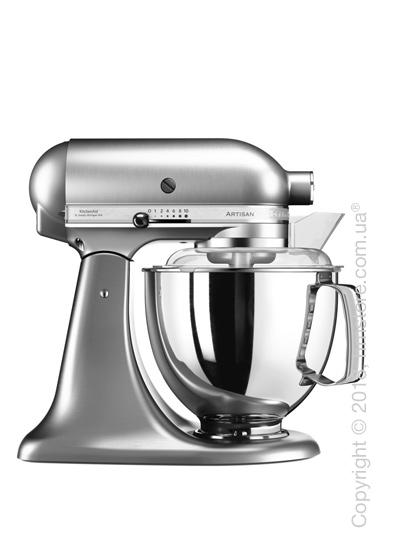 Планетарный миксер KitchenAid Artisan Series 5-Quart Tilt-Head Stand Mixer Plus Bowl 4.8 л, Brushed Nickel