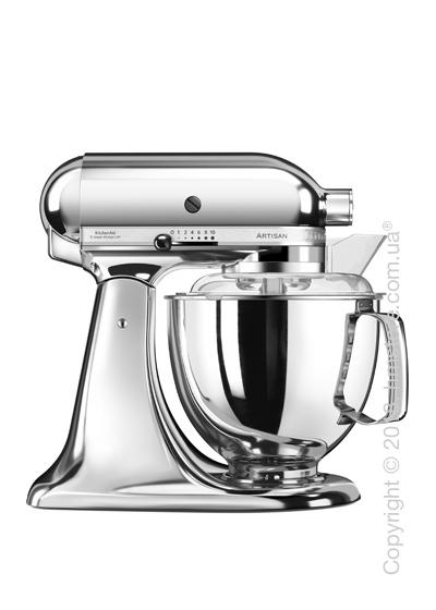 Планетарный миксер KitchenAid Artisan Series 5-Quart Tilt-Head Stand Mixer Plus Bowl 4.8 л, Chrom
